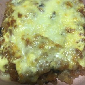 雑穀ごはんの茄子とチーズ焼き