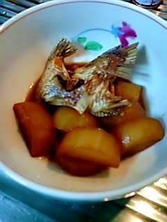安くて美味しい鯛のあらだき&煮汁で「にこごり」