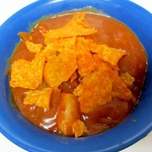 チキンとかぼちゃのドリトスカレー