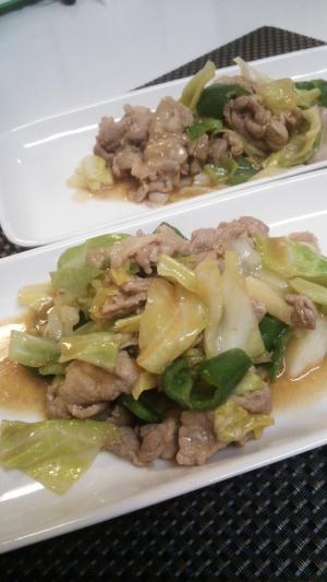 我が家の回鍋肉・豚肉とキャベツの味噌炒め