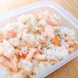 鮭とごまの混ぜご飯