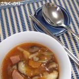 1行レシピ★スパム入り韓国スープ