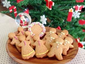 クリスマス☆大人のジンジャークッキー