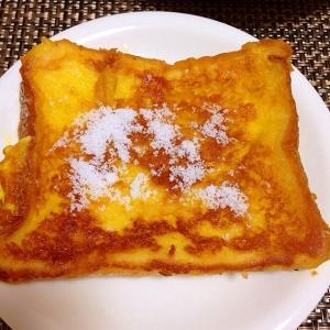 パサパサ食パン救済!トロトロなフレンチトースト