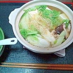 ひとり鍋ダイエット第1弾!~塩ちゃんこ鍋~