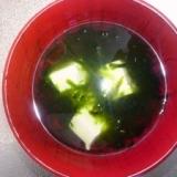沖縄家庭料理☆アーサー汁