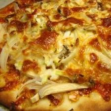 食べるラー油で♪和風ピザ