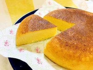 超簡単ヘルシー!HMで炊飯器チーズケーキ