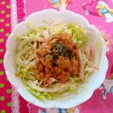 コールスロー納豆