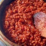 ダイエット応援☆まるでお肉な大豆ミートソース