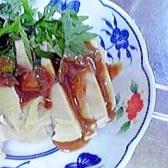 しっとり美味しい☆ゆで鶏のごましそ風味♪