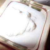 雪中で作るアイスクリーム