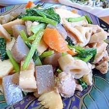 中華風筑前煮