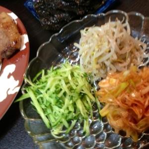 韓国風♪前菜盛合せ