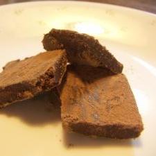 材料3つ☆牛乳とチョコレートだけで生チョコ