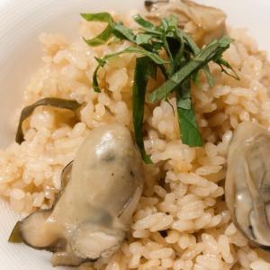 簡単に美味しく牡蠣ご飯♪