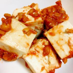 酒の肴☆豆腐のもろみ味噌漬け