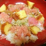 彩りキレイなシンプルちらし寿司