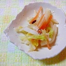 お正月用・中華風白菜の酢漬け♪~ラーパーツァイ~