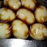 めんつゆでカンタン煮玉子♪一晩つけおきタイプ 煮卵
