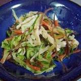 切り昆布と野菜の炒め煮
