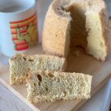 オートミール粉の糖質制限シフォンケーキ