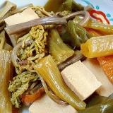春の山菜☆ 「フキとワラビの田舎煮」