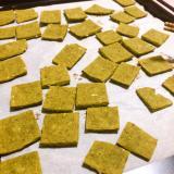 米粉で抹茶クッキー