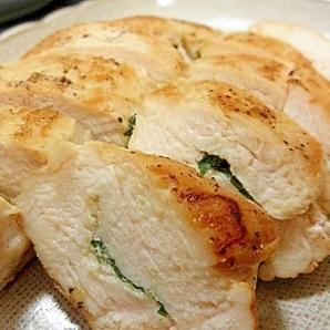 鶏むね肉のゆず胡椒焼き