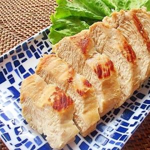 フライパンで簡単!鶏むね肉のしっとり焼き