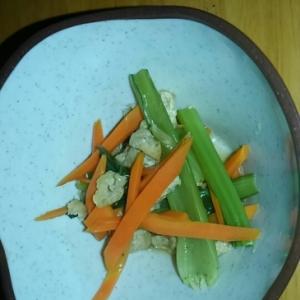 昆布だしで小松菜煮浸し