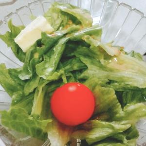 トマトチーズレタスサラダ