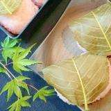 もち米炊飯でかたくならない『桜餅』