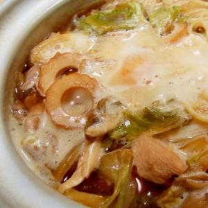 【親鶏出汁】鍋焼きラーメン