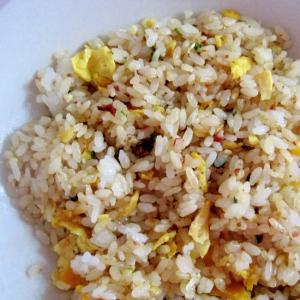 簡単でパラパラな卵炒飯
