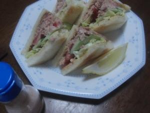 サンドイッチハウスのツナサンド