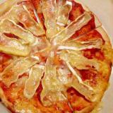 ピタパンでカマンベールピザ