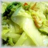 白菜一玉ぺろり!白菜とさつま揚げのピリ辛炒め煮