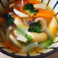 小松菜とウインナーのコンソメ煮