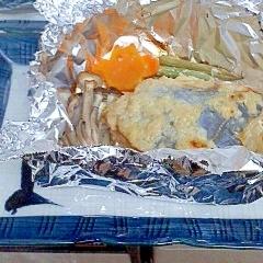 味噌漬け魚と野菜のホイル焼き(たら/鯛/さわら等)