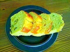 オリーブオイルを使った かぼちゃパウンドケーキ