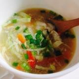10倍粥のリメイクレシピ☆中華スープ