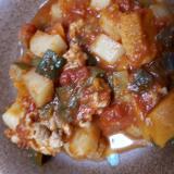 野菜と豚肉のトマト煮込み
