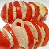さっぱり鶏ハムとトマトのオードブル