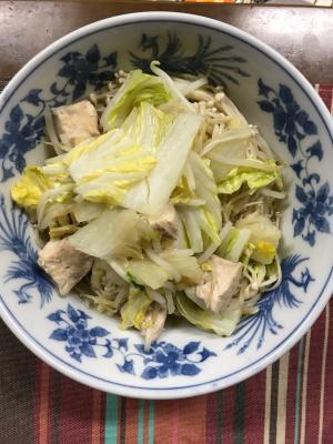 ダイエットに最適!簡単野菜たっぷりヘルシー鍋!