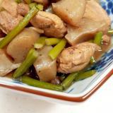 低糖質!(^^)鶏肉+こんにゃく+シメジの煮物♪