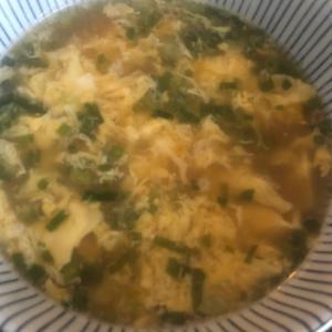 かきたま豆腐スープ