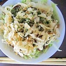 ランチの新定番★お好み焼き風丼