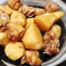 圧力鍋で時短☆鶏肉と里芋のとろ煮☆