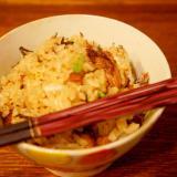 秋刀魚の缶詰で炊き込みご飯